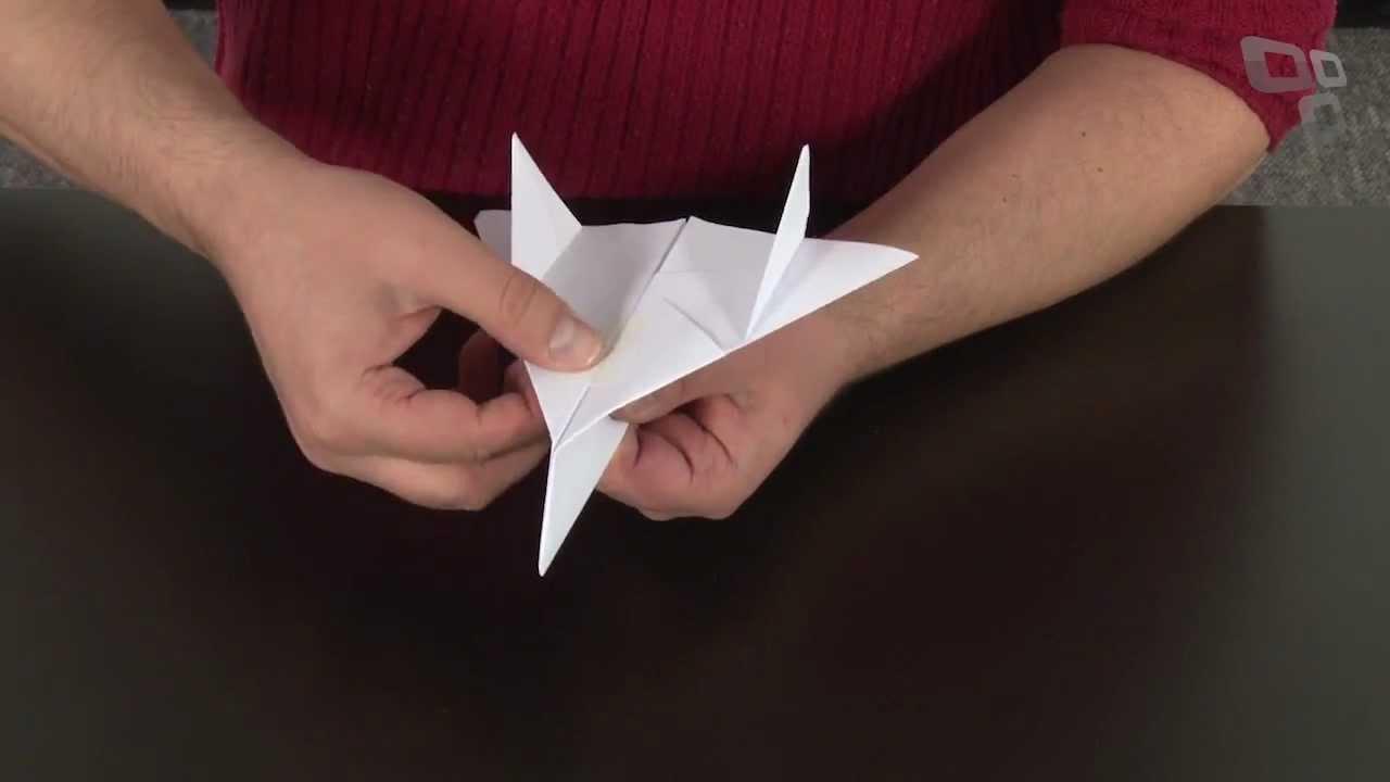 Conhecido Como fazer o avião de papel mais irado do mundo [Área 42  IL19