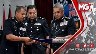 TERKINI : Persidangan Agung Tergempar Polis Serah Memorandum IPCMC Kepada IGP
