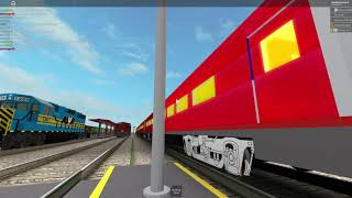 My new NS OCS train for my new game in Roblox