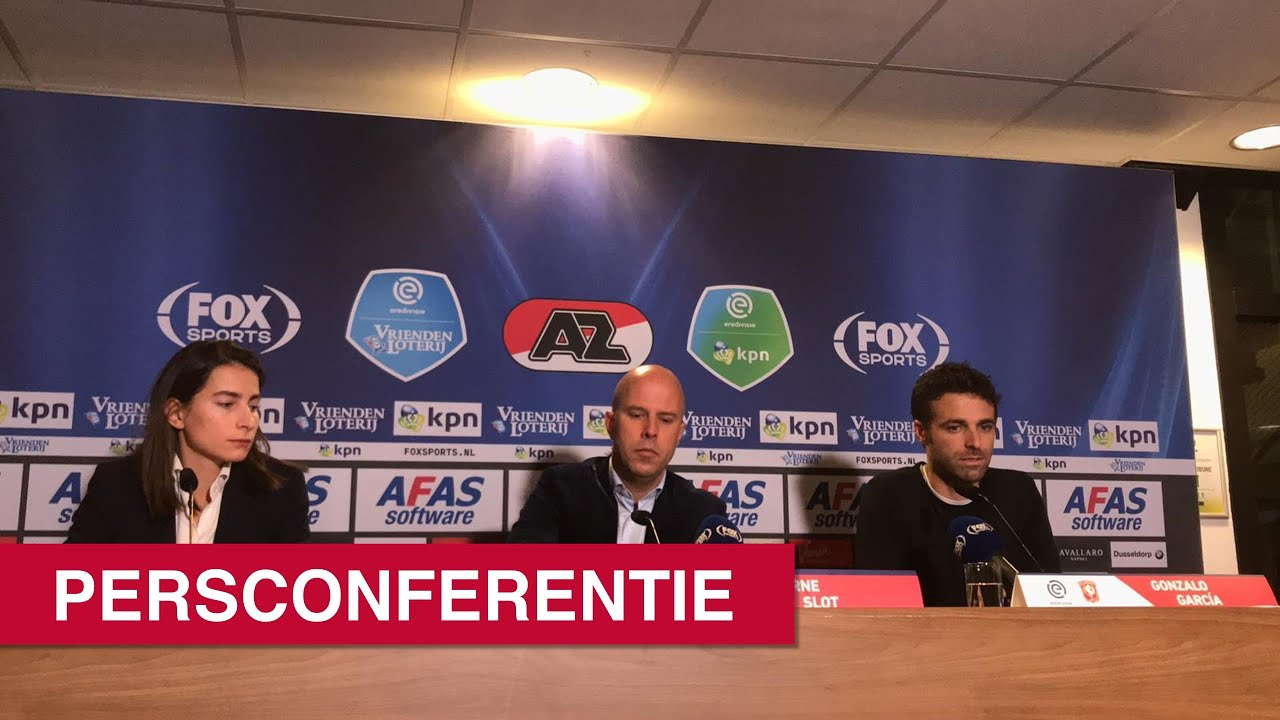 Persconferentie AZ - FC Twente   Eredivisie