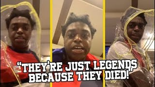 Kodak Black Responds To People Saying He's Not In The Tupac & Biggie Category!