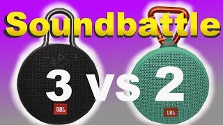 JBL Clip 3 vs. Clip 2 - binaural test SoundBattle