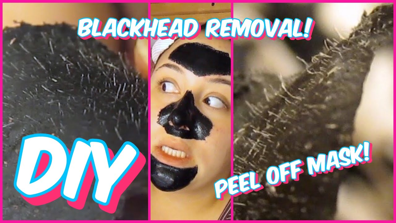 diy black mask for blackheads
