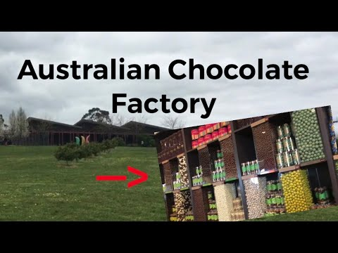I Went To A CHOCOLATE FACTORY In AUSTRALIA!!!