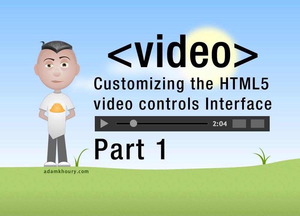 1. HTML5 Custom Video Player Controls JavaScript ...