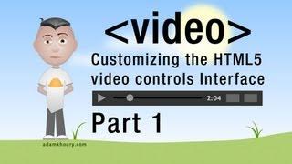 Video 1. HTML5 Custom Video Player Controls JavaScript Programming Tutorial download MP3, 3GP, MP4, WEBM, AVI, FLV Agustus 2018