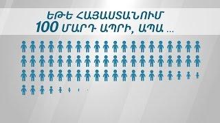 Եթե Հայաստանում 100 մարդ ապրի