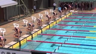 スイミング埼玉県ジュニアオリンピック美香11歳の部自由形50m32,88秒in青木公園