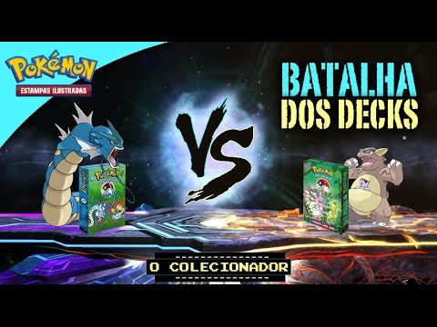 BATALHA DOS DECKS:  Overgrowth VS Power Reserve (Old School Decks - Pokemon TCG Game)