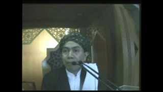 Kh  Misbahul Munir-khutbah Jumat, 18 Oktober 2013