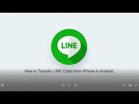 How To Transfer LINE Chats From IPhone To Android