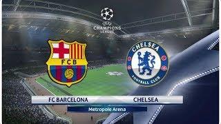 Fc barcelona vs chelsea 1-2   uefa champions league pes 2018 gameplay pc