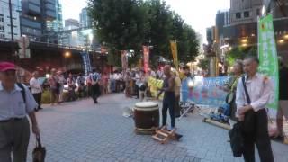 2016/8/3 東京電力本店前原発反対合同抗議行動 【1】