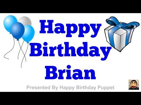 Happy Birthday Brian - Best Happy Birthday Song Ever