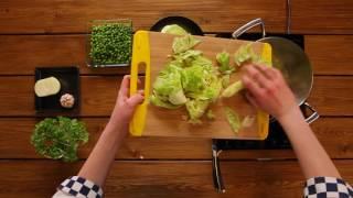 видео Креветки с чечевицей и кресс-салатом (кухня: Африканская)