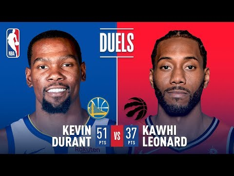Kawhi Leonard and Kevin Durant Battle in EPIC Scoring Duel | November 29, 2018