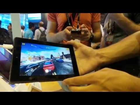MediaTek MT8173 (Cortex-A72) demo tablet bemutató videó