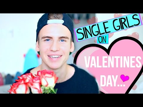 Types of Single Girls on Valentines Day!