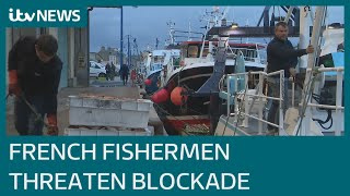Navy ships sent to Jersey as French fishermen plan to blockade harbour in post-Brexit row | ITV News