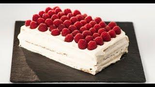 Малиновый торт со сливочным кремом | Привет, Италия!