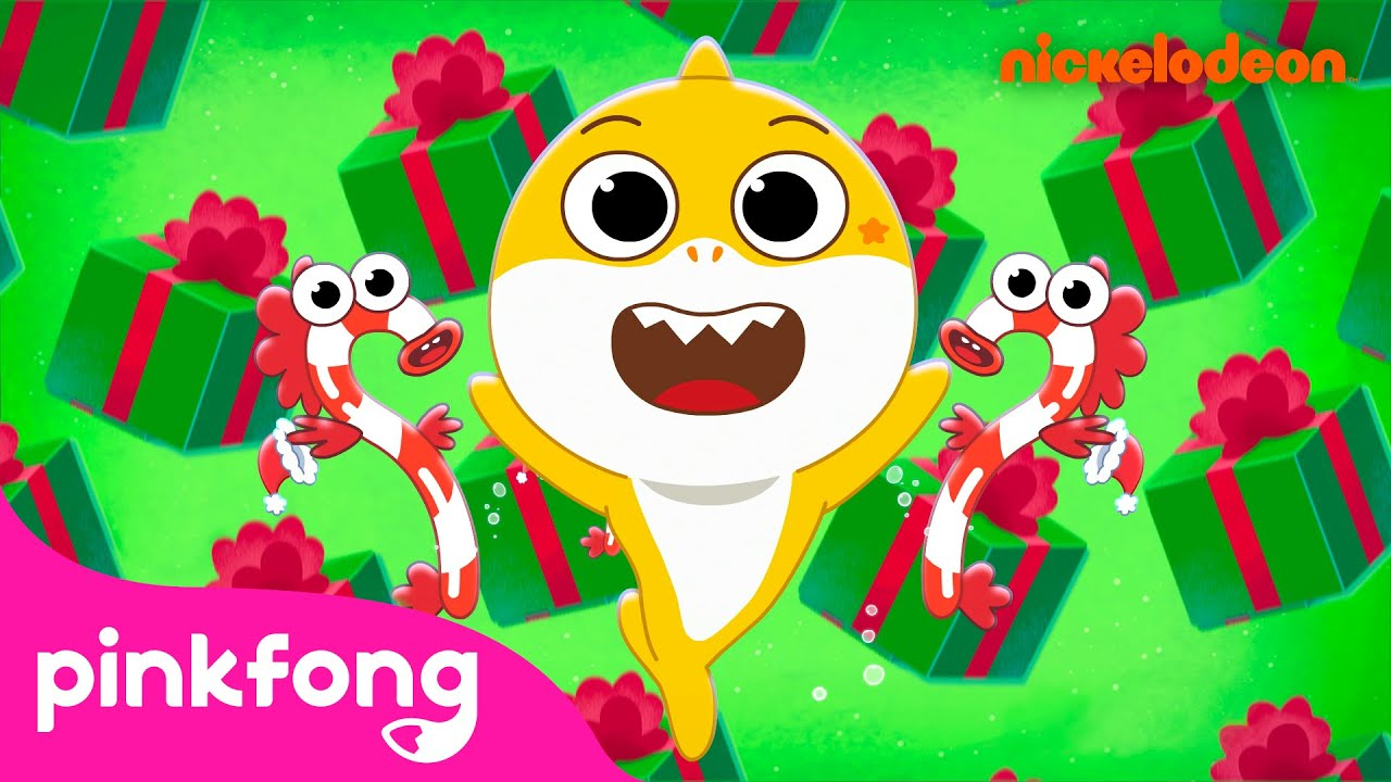 It's Fishmas Music Video | Baby Shark's Big Show | Christmas Song | Pinkfong Songs for Children