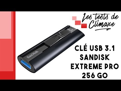 Sandisk Extreme Pro 256 Gb USB 3.1 flash drive review