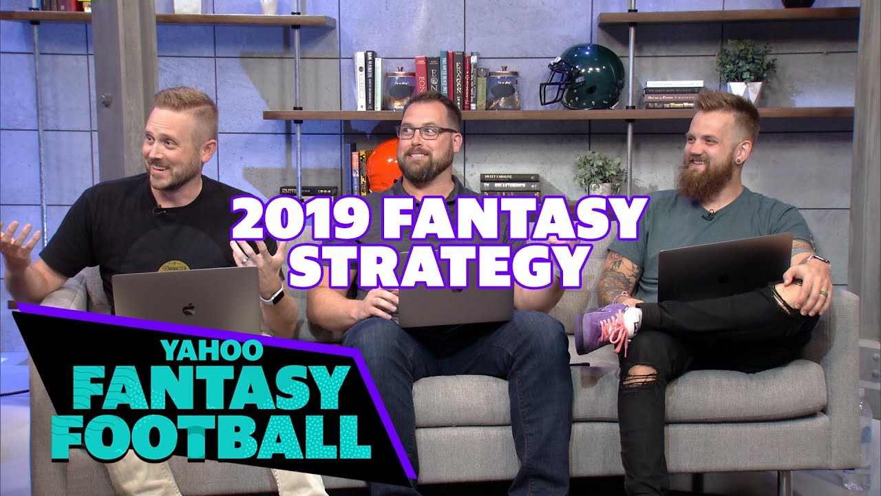 The Fantasy Footballers and Yahoo Sports talk 2019 Strategy, Apologies &  the NFC North