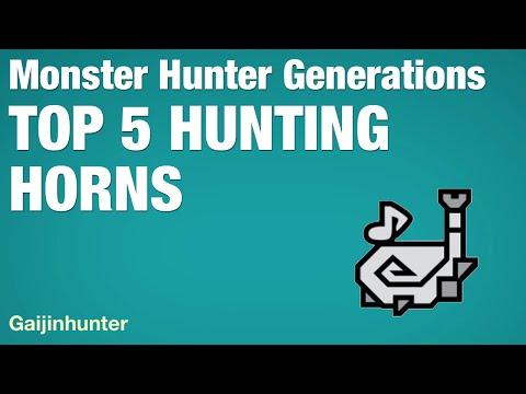 Monster Hunter Generations: Top 5 Hunting Horns
