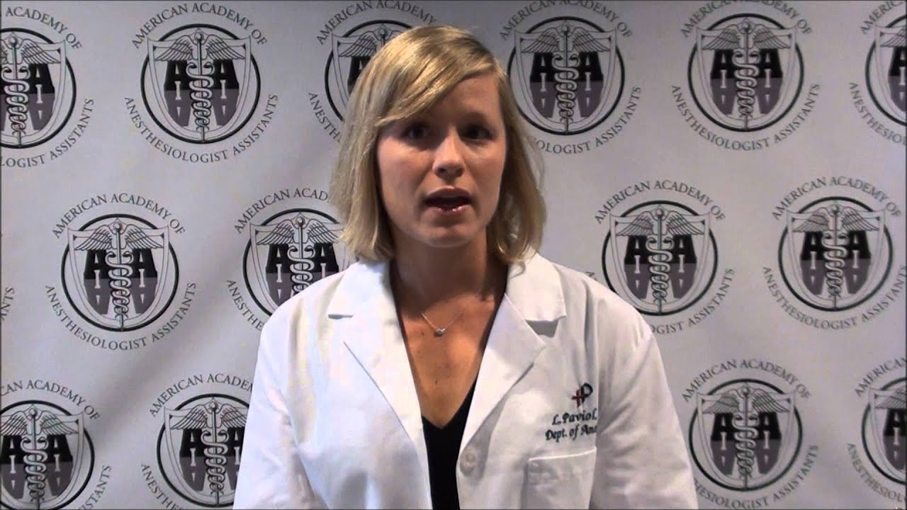 how to become an anesthesiologist assistant
