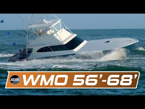 White Marlin Open Sportfishing Yachts 56' To 68'