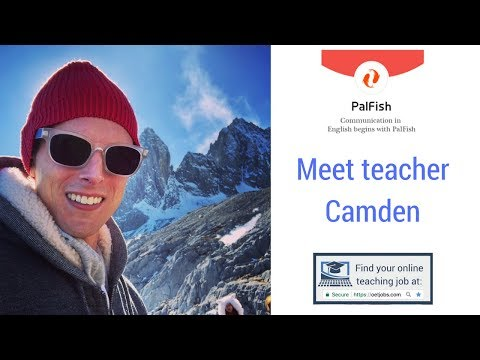 📺 Meet Online ESL Teacher Camden PalFish 📺