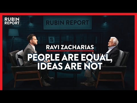 How My Crisis Can Help You Find Meaning In Your Life | Ravi Zacharias | SPIRITUALITY | Rubin Report