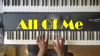 All Of Me Piano Cover Instrumental - John Legend
