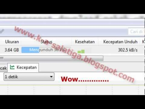 Cara Mempercepat uTorrent 100++/10sec Sangat Cepat By K.A art DESIGN