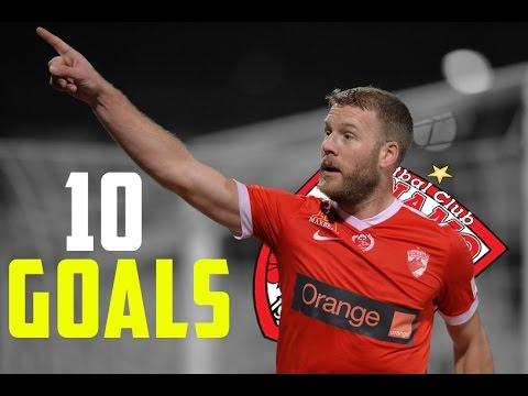 Adam Nemec - Toate cele 10 goluri pana acum pentru Dinamo    1080i HD