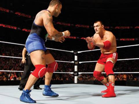 Raw: Santino Marella vs. Vladimir Kozlov