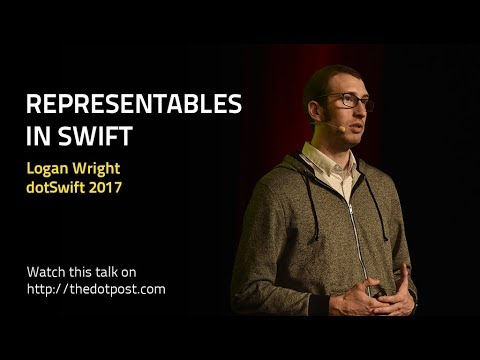 dotSwift 2017 - Logan Wright - Representables in Swift