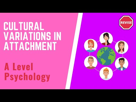 As Psychology - Cultural Variations In Attachments