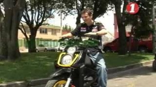 yamaha BWS190 modificada, preparacion y tuning motos scooter