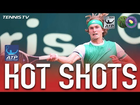 Zverev Brings Down The House With Halle 2017 Hot Shot
