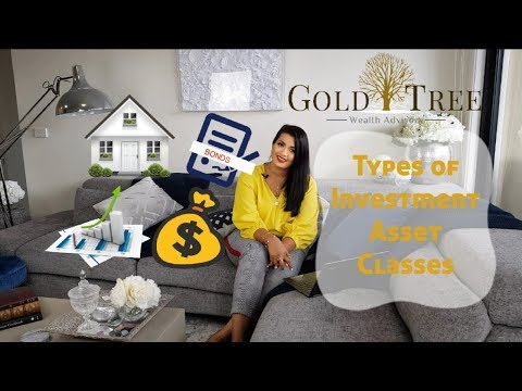 Types of Investment Asset Classes ‖ GOLD TREE WEALTH ADVISORY