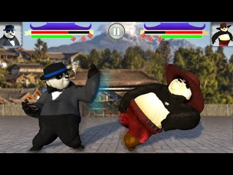 Panda Fighting: Angry Wild Kung Fu Beasts Android Gameplay