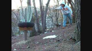 My Private Disc Golf Course/hole #3 From The White Tee