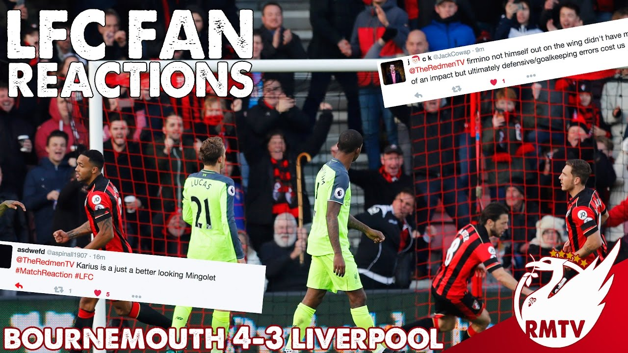 Download Bournemouth v Liverpool 4-3 | LFC Fan Reactions