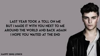 THERE FOR YOU - MARTIN GARRIX FT. TROYE SIVAN (Lyrics)