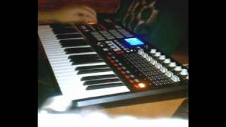 CLEE4 MAKEN A BEAT WITH MPK49 USING FL STUDIO ENJOY