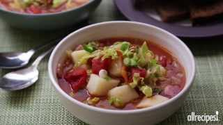 St. Patrick's Day Recipes - How To Make Irish Bacon And Cabbage Soup