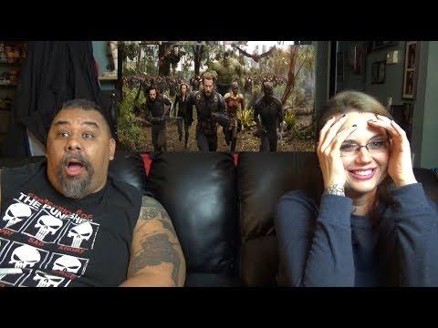 AVENGERS: Infinity War Trailer Reaction