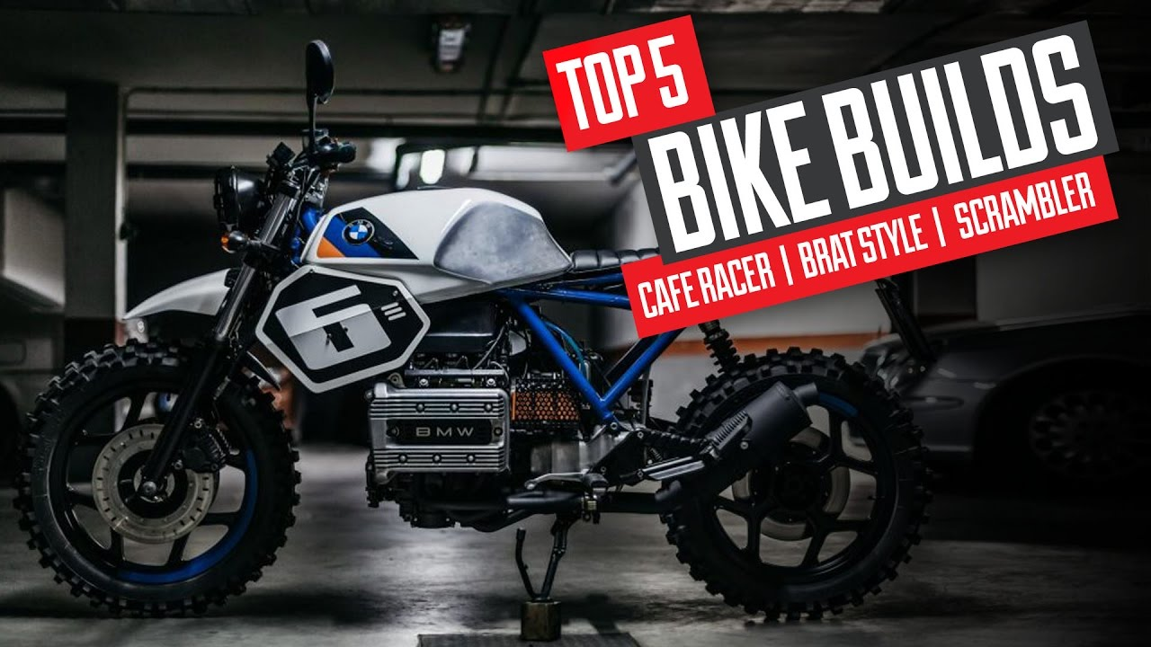 Top 5 Cafe Racer Scrambler Brat Style Builds Youtube