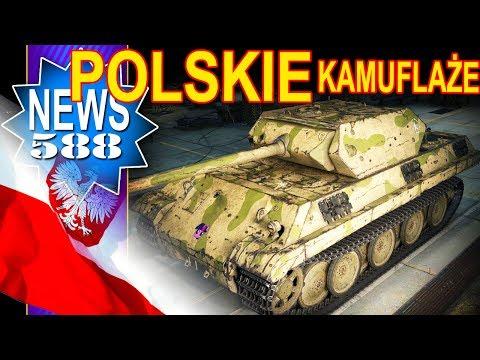 Polskie kamuflaże i zmiany we Francji - NEWS - World of Tanks